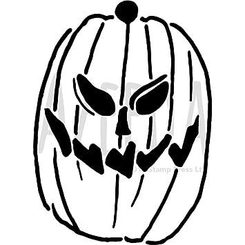 Azeeda A5 \'Calabaza de Halloween\' Plantilla de Pared / Estarcir ...