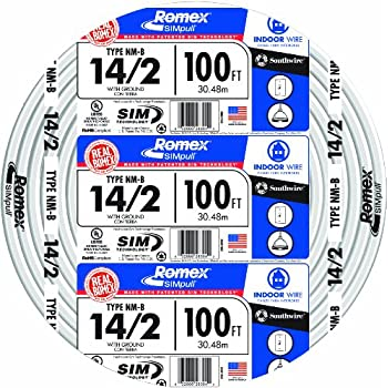 Southwire 28828222 12/2WG NMB Wire 50-Foot - Electrical Wires ...