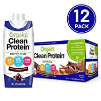 Deals on 12-CT Orgain Grass Fed Clean Protein Shake Creamy Chocolate