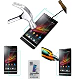 Acm Tempered Glass Screenguard for Sony Xperia Sl Lt26ii Screen Guard Scratch Protector