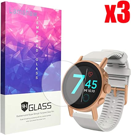 6 Pack Blueshaw Full Coverage Premium High Definition Ultra Clear Compatible with Misfit Vapor X Smartwatch Compatible with Misfit Vapor X Screen Protector