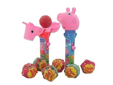Peppa Pig Pop Ups Lollipops con 3 vasos de sabor surtido ...