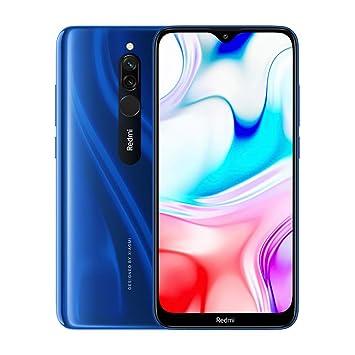 """Xiaomi Redmi 8 Smartphone, 3GB 32GB Mobilephone,6,22"""" Pantalla Snapdragon 439,Teléfono Móvil 12MP Cámara Dual,Versión Global (Azul)"""