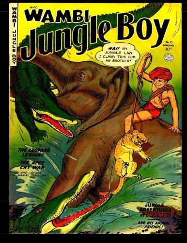 Download Wambi Jungle Boy #15: Golden Age Jungle Comic ebook