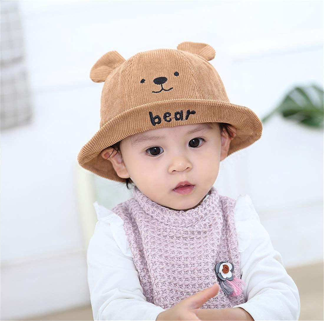 Usunny Kids Bucket Hat Toddler Girls Sun Hat Breathable Summer PlayHat