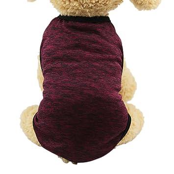Sannysis Ropa para Mascotas pequeñas Perros Accesorios Ropa Mascotas Disfraces para Perros Trajes de Halloween Camisetas para Perrito Chaleco de Perros ...