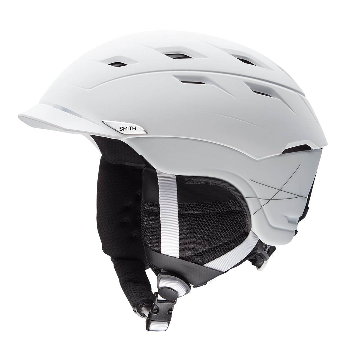 Smith Optics Unisex Adult Variance Snow Sports Helmet - Matte White Small (51-55CM)