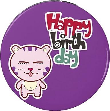Amazon.com: Llavero de feliz cumpleaños con gato japonés de ...