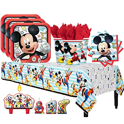 Top 10 best mickey mouse party supplies 3rd birthday: Which is the best one in 2019?