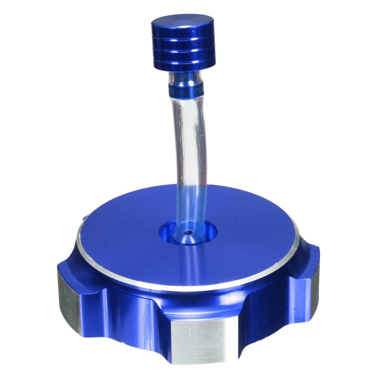 Alamor Alluminio Fuel Serbatoio Benzina Tappo Sfiato Per Pit Dirt Bike 50Cc 110Cc 125Cc-Blu