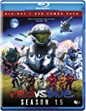 RED VS BLUE: SEASON 15 - RED VS BLUE: SEASON 15 (2 Blu-ray)