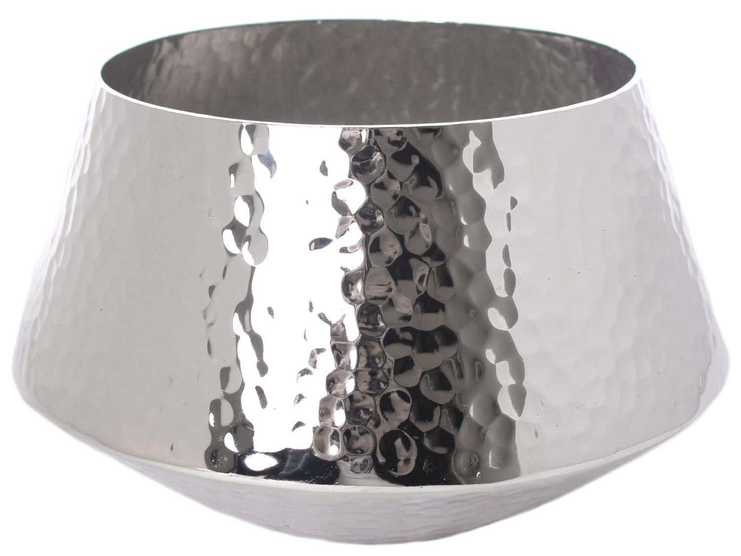 Carousel Home Decorative Hammered Aluminium Bowl