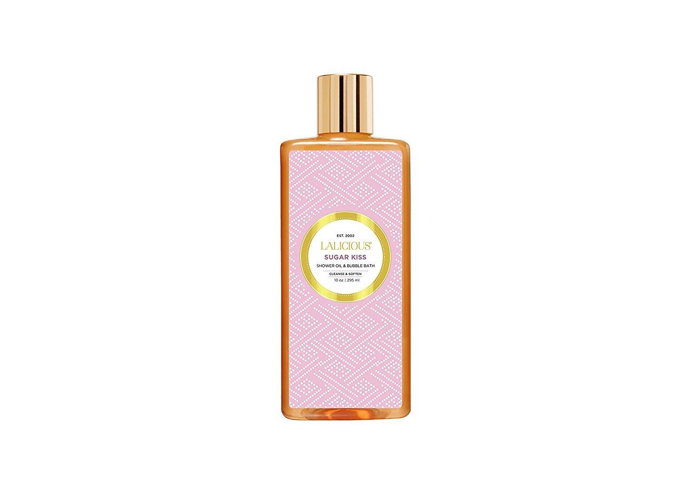 LALICIOUS Sugar Kiss Shower Oil & Bubble Bath 10oz / 295ml SK10