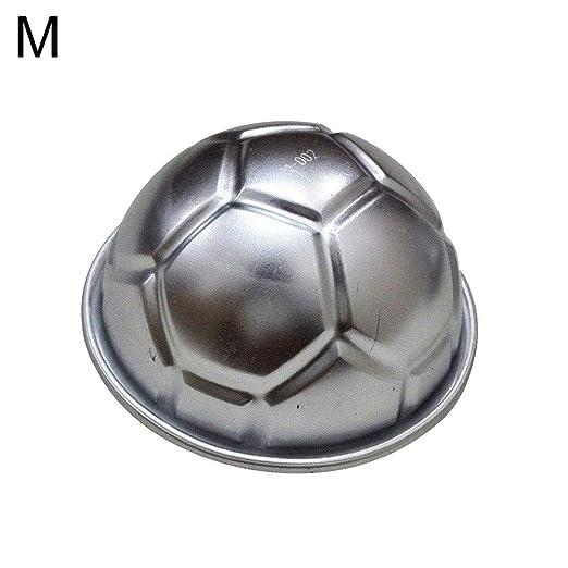 Hemisphere - Molde para hornear con forma de balón de fútbol, para ...