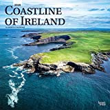 Coastline of Ireland 2020 12 x 12 Inch Monthly Square Wall Calendar, Travel Nature Ocean Cliffs Celtic
