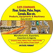 Flour, Grains, Pulses, Sugar, Cereals, Rice Etc. Companies Data