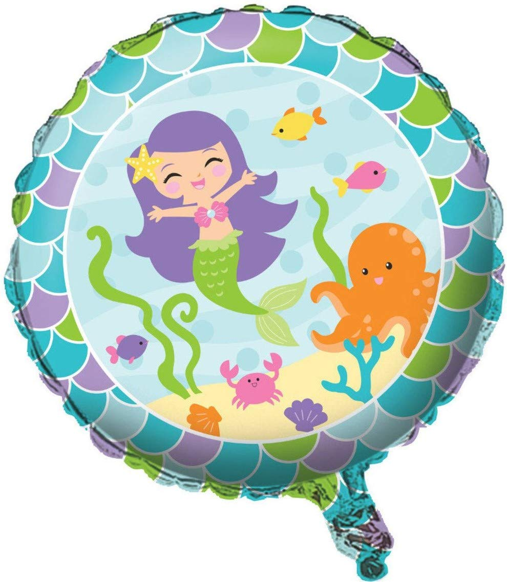 Mermaid Friends Girls Birthday Party Supplies Bundle and Decorations for 24 Guests Creative Converting Inc.