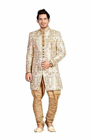 Amazon Com Striking Indian Style Sherwani For Men Wedding Dress For