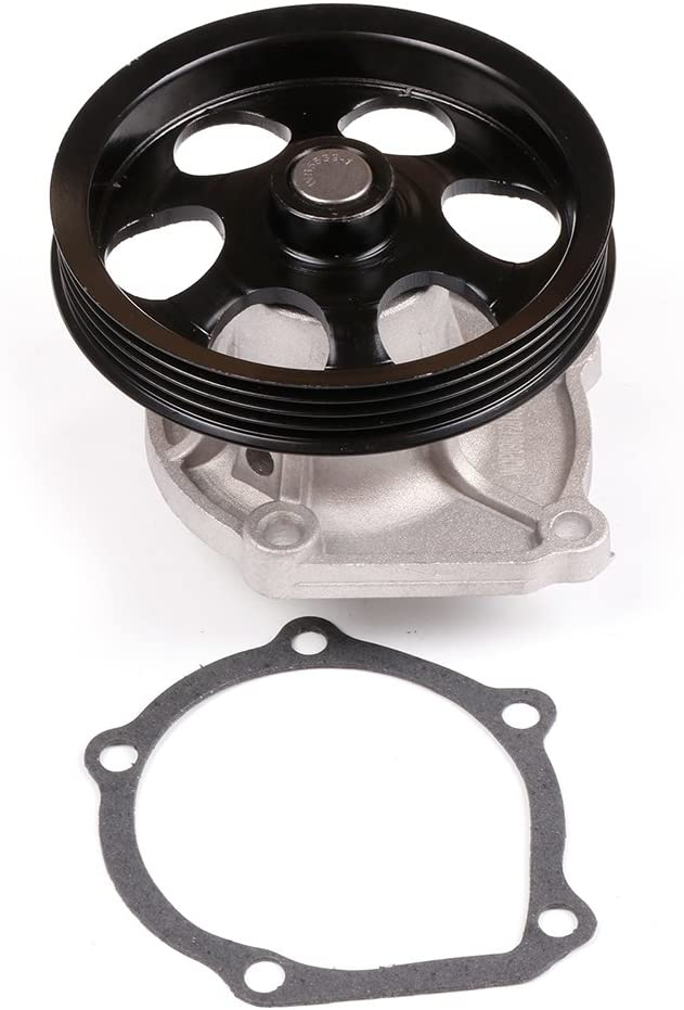 CODE5EFE CCIYU Timing Belt Water Pump with Gasket Tensioner Bearing Fits 1995-1997 Toyota Paseo 1995-1998 Toyota Tercel 1.5L L4 ENG