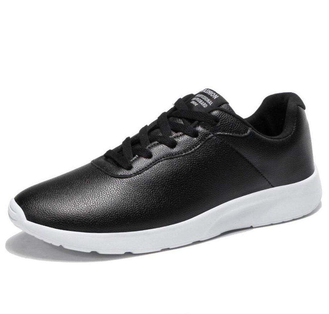 DANDANJIE Zapatos de Hombre Primavera y Otoño Hombres Zapatos Deportivos Zapatos de Viaje Ligeros Zapatos para Correr Zapatos de Caminar Diarios para el Ocio Diario (Color : Negro, Tamaño : 38 EU) 38 EU Negro