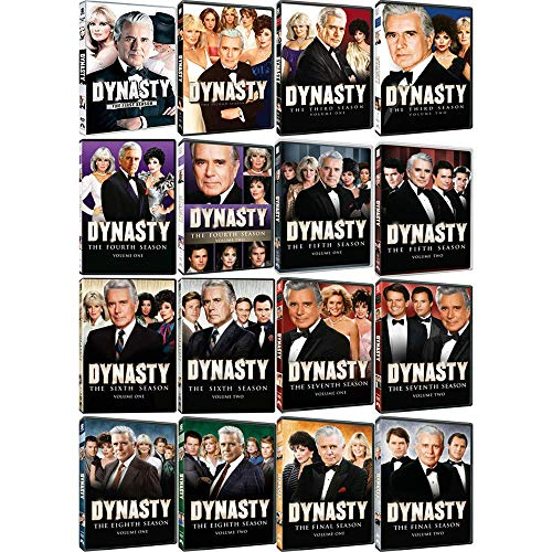 Dynasty: Complete 1980s TV Series Seasons 1-9 DVD Collection (Bellwood Collection)