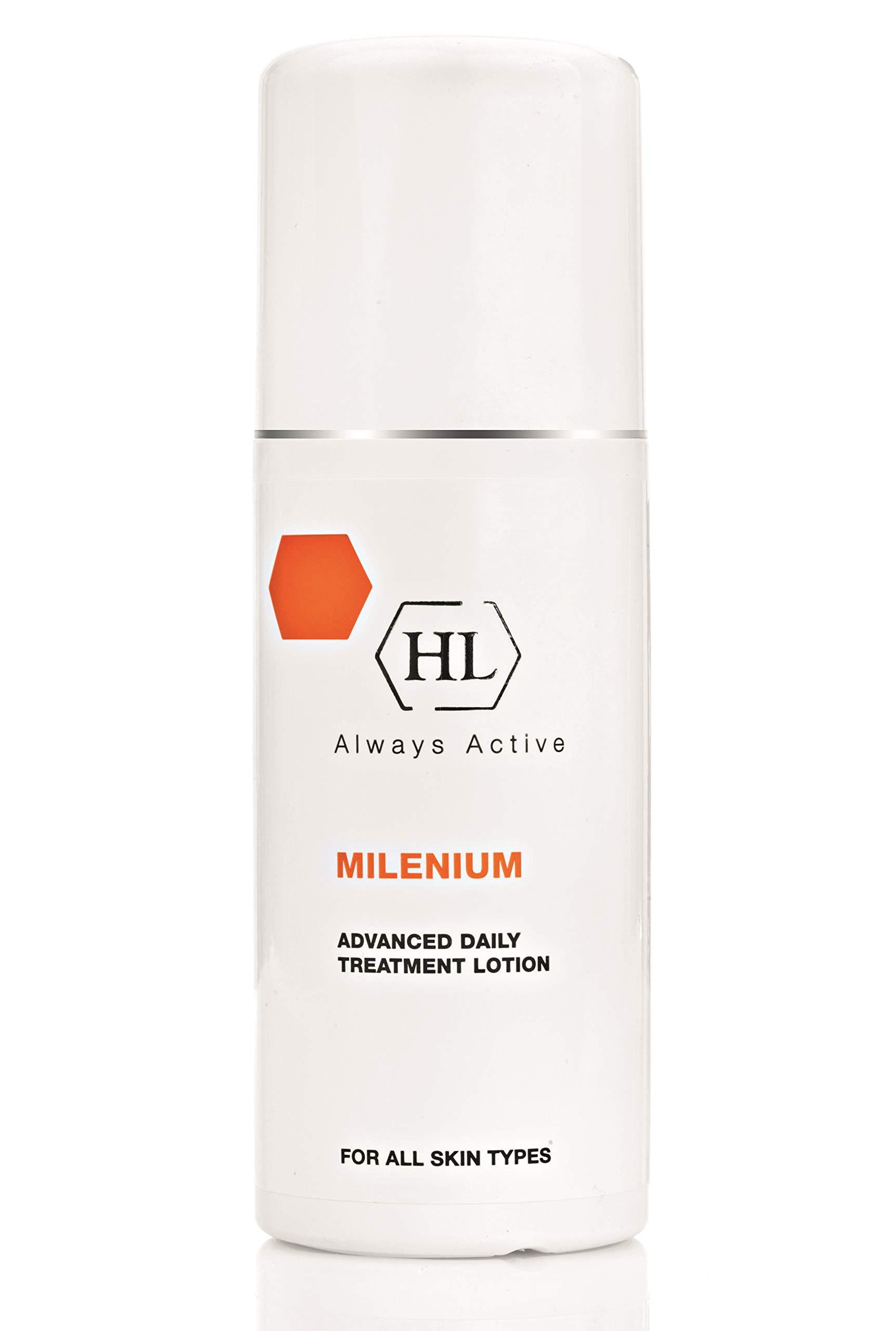 HL Holy Land Cosmetics Milenium Advanced Daily Treatment Super Lotion, Unique Formula Increases Moisture, Leaves Skin Clean & Fresh, 8.5 fl.oz