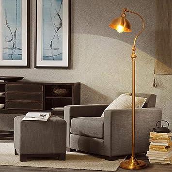 Xiaodu Messing Stehlampe Wohnzimmer Wohnzimmer Wohnzimmer ...