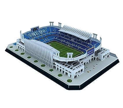 Amazon com: 3D Sports Stadium Puzzle Model, Malaga Football