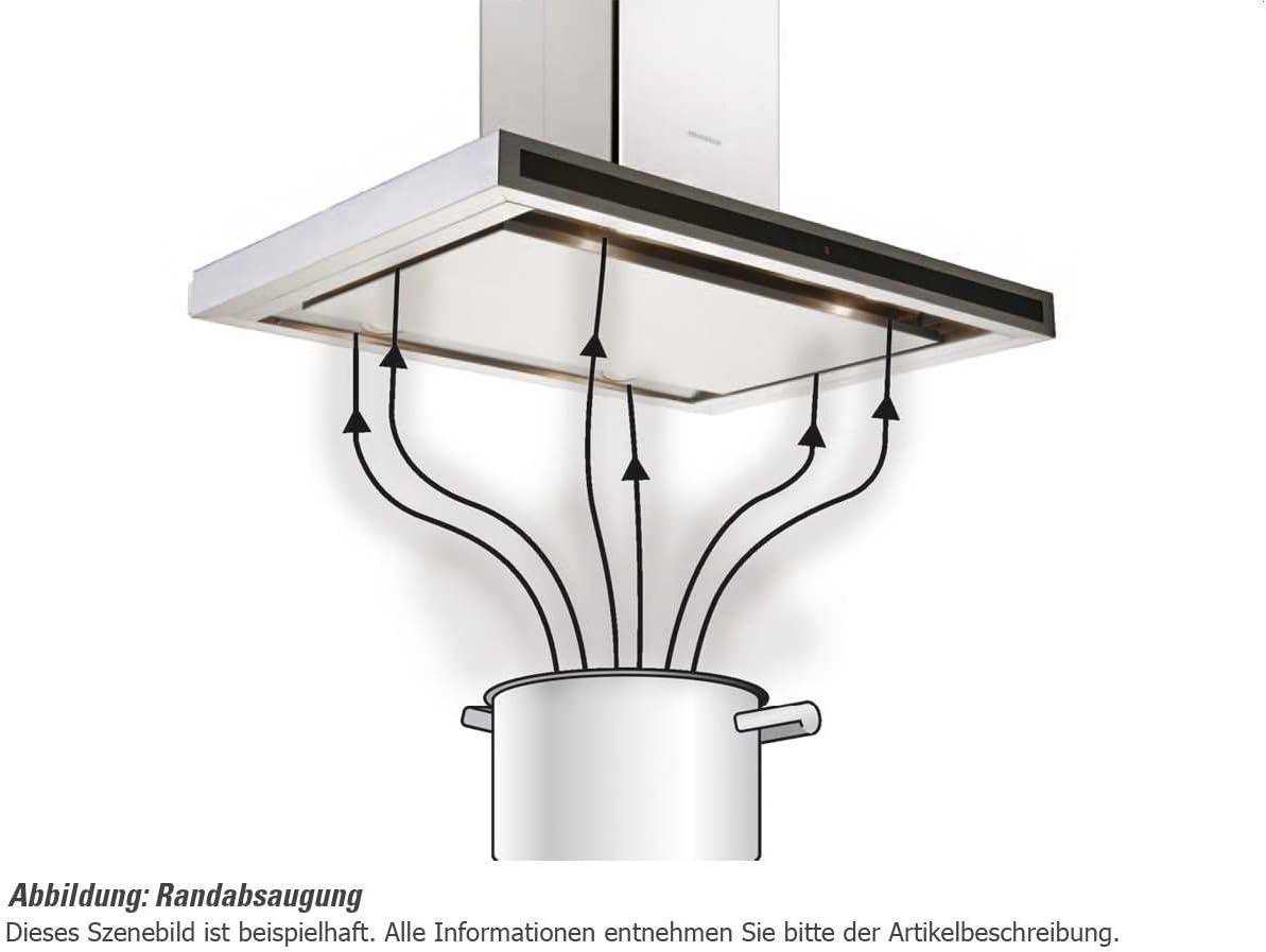 Silverline TTW 953 W Trinity - Campana extractora de pared (89,6 cm): Amazon.es: Grandes electrodomésticos