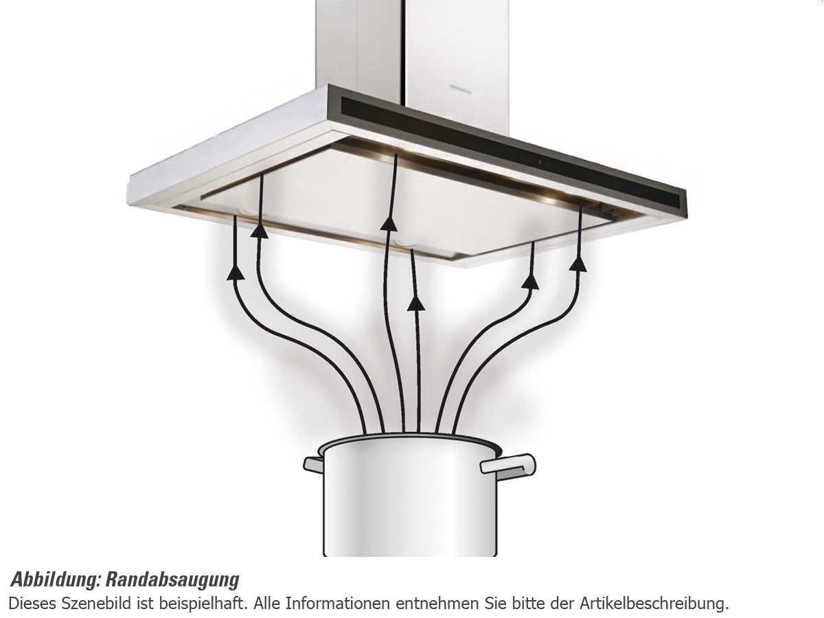 59.8 cm//B SILVERLINE PEW 685.2 ES Perla Deluxe Wandhaube Kopffrei//Dunstabzugshaube