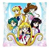 Sailor Moon Pillow Case 18'x18' Two Sides