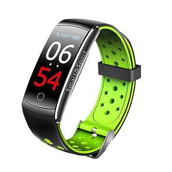 Smartwatch Reloj Inteligente Pulsera Bluetooth con GPS, Monitor de Ritmo Cardíaco Rastreador de Ejercicios Despertador Recordatorio de Llamada de ...