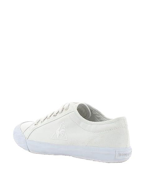 Le Coq Sportif - Zapatillas para Mujer Blanco Weiß 43 EU: Amazon.es: Zapatos y complementos
