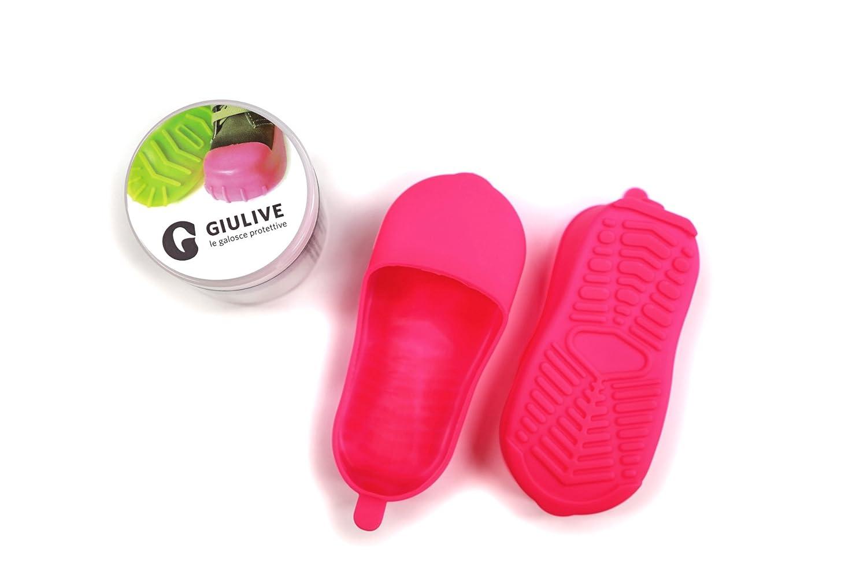 GIULIVE - Protectores de las botas, a través de zapatos para zapatos, más tamaño XS=20-24 S=25-29 m=30-34 L=34-37 XL=38-42, color, talla L=34-37
