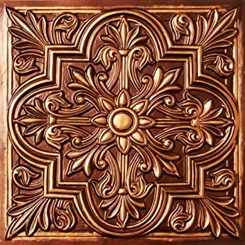 Amazon Drop Ceiling Tiles 40x40 3040 Antique Copper Faux Plastic Custom Decorative Drop Ceiling Tiles 2X2