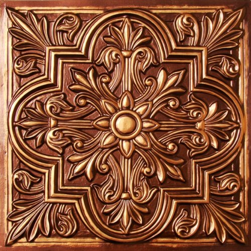 Awesome 1 Ceramic Tile Big 12 Ceiling Tiles Solid 12X12 Floor Tiles 12X12 Styrofoam Ceiling Tiles Young 16 Ceramic Tile Coloured24 X 48 Ceiling Tiles Drop Ceiling Amazon.com: Drop Ceiling Tiles 2x2 #302 Antique Copper Faux ..