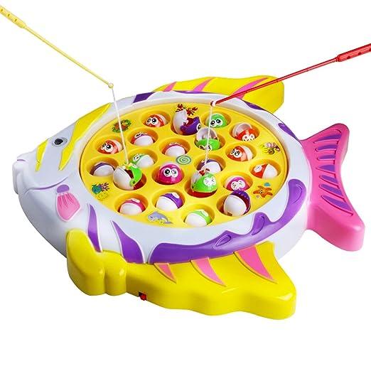 10 opinioni per Fajiabao Giocattoli di Pesca Elettrico Gioco Musicale Bambini Giochi 3 Anni,