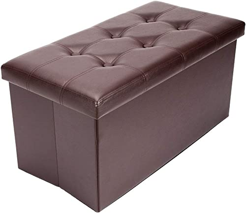 ZOKOP Folding Storage Ottoman