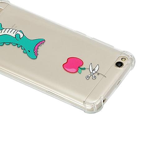 idatog xiaomi redmi 5a hlle kreatives muster transparent tpu silikon schutz handy hllen smartphone schutzhlle case - Handyhullen Muster