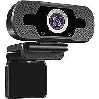 E T EASYTAO Cámara Web 1080P Full HD con Micrófono, Webcam USB Plug and Play para PC Computadoras o Portátil, para…