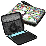 Fintie Carry Case for Wacom Intuos - Portable Travel Bag for Small CTL4100WLK0 / Draw CTL-490DW/490DB / Art CTH-490AK/490AB / Comic CTH-490CK/490CB / Photo CTH490PK Drawing Tablet, Love Tree