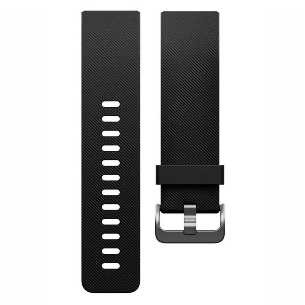 Fitbit Blaze Accessory Band, Classic, Black, Large
