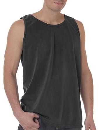 5876628b1f3db0 Comfort Colors Chouinard Adult Preshrunk Garment-Dyed Tank Top at Amazon Men s  Clothing store