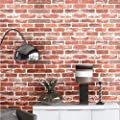 Brick Self Adhesive Peel and Stick Wallpaper