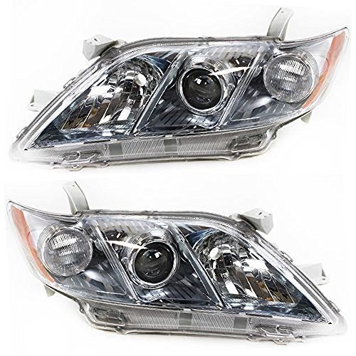07-09 Toy Camry Hybrid Driver & Passenger Headlight Assemblies - Toy Headlight