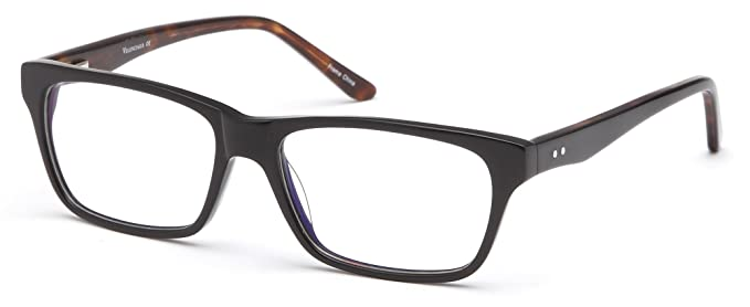 Amazon.com: Women\'s Wayfarer Black Glasses Frames Prescription ...
