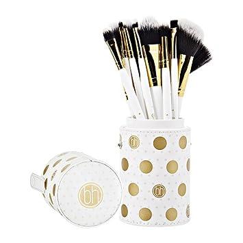 9179112a0240 Amazon.com  BH Cosmetics Dot Collection 11 Piece Brush Set