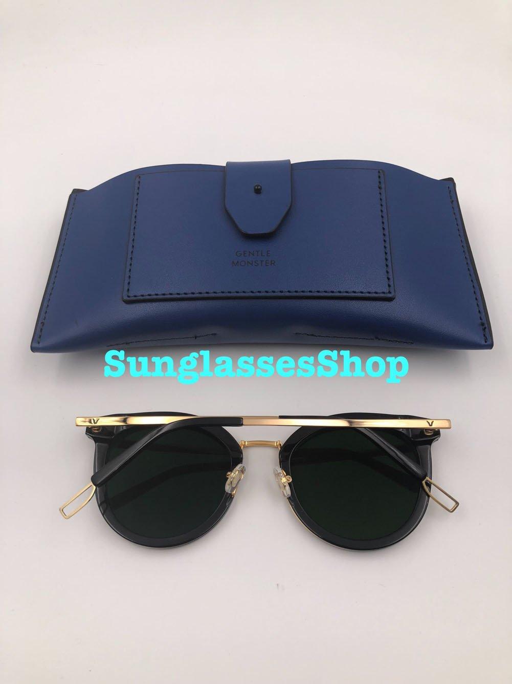 c3a4897ee39 Amazon.com   Gentle Monster Sunglasses Merlynn Black Frame Black Zeiss  Lenses With Original Package Sets   Everything Else