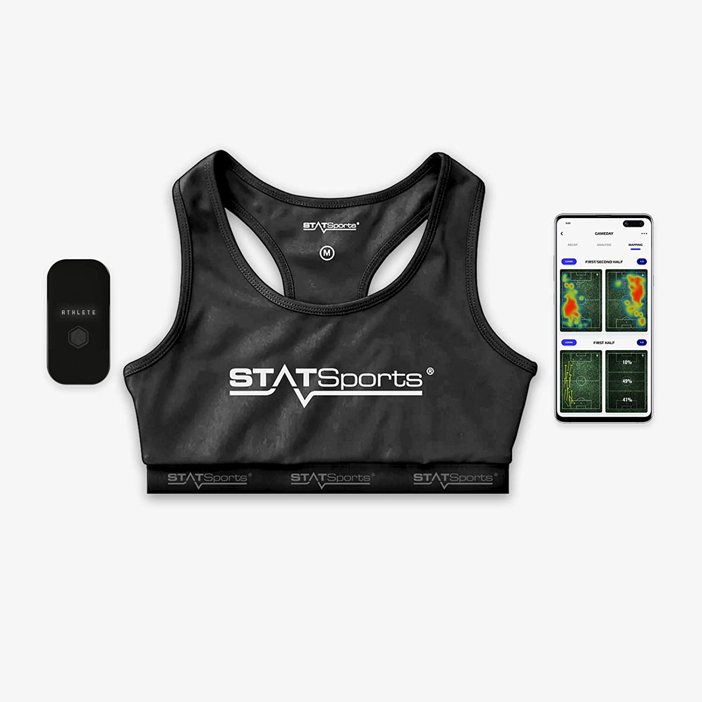 STATSports Apex Athlete Series - Rastreador GPS de fútbol Aprobado por la FIFA - Socios Oficiales de fútbol Americano