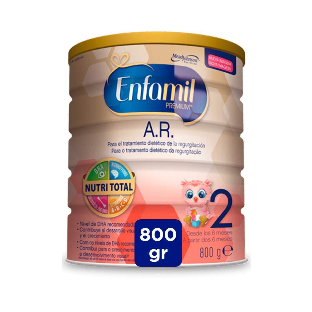 Enfamil Premium A.R.2 - Leche infantil anti regurgitación para bebés lactantes a partir de 6 meses: Amazon.es: Alimentación y bebidas